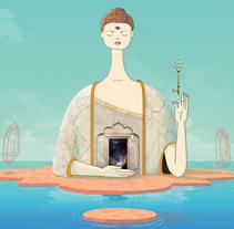 Dream state places. Un proyecto de Ilustración de Multum in parvo  - 18-01-2017