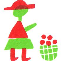 Ilustración de campesinas.. Un proyecto de Ilustración y Serigrafía de Uxía Pin - 23-01-2017