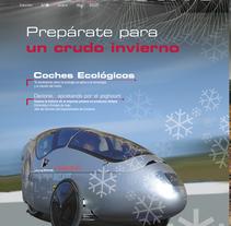 Revista automotive / LUIKE. A Design, Art Direction, and Editorial Design project by Rosalina Carrera Amoedo         - 24.01.2017
