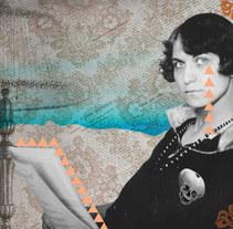 Collage - Emma Reh. Un proyecto de Diseño gráfico y Collage de Laura Singular - 25-01-2017