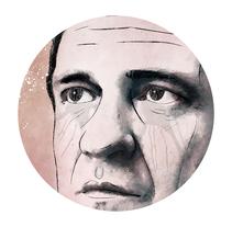 Retrato con Photoshop - Johnny Cash. A Illustration, Art Direction, Graphic Design, and Sound Design project by Fabio Spagnoli - 16-01-2017