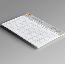Calendars. A Advertising, Br, ing, Identit, and Graphic Design project by Amaya Ríos         - 28.01.2017