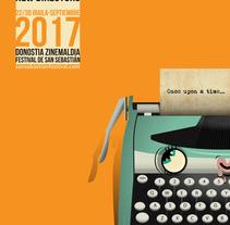 cartel Nuevos directores para el Zinemaldia de Donosti. A Illustration project by Rafa Velásquez         - 31.01.2017