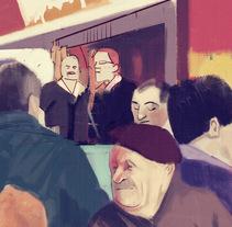 Ilustraciones para Food Republic. Un proyecto de Ilustración, Bellas Artes y Cocina de David Navas - Martes, 07 de febrero de 2017 11:29:00 +0100