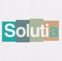Solutia Identidad corporativa. Un proyecto de Diseño y Diseño gráfico de Amparo  Navarro         - 07.02.2017