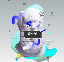 Shift - Festival multimedia independiente. A Design, Art Direction, Br, ing, Identit, Graphic Design, Information Architecture&Information Design project by Luciana Tavella         - 07.02.2017