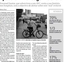Entrevista a Manuel Santos. Diario de Aveiro. (Portugal). Um projeto de Escrita de Rebeca  Plaza López - 08-11-2010