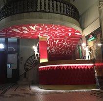 The Macbeth Corner Bar. A Design, Illustration, Fine Art, T, pograph, Calligraph, and Street Art project by Mr. Zé  - 09-02-2017