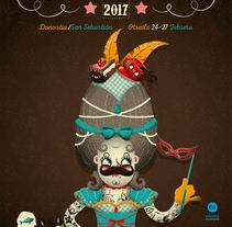 Inauteriak 2017. A Design, Illustration, Character Design, and Graphic Design project by Rafa Velásquez         - 13.02.2017