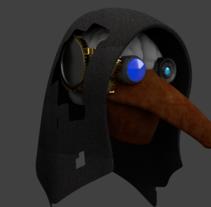 Raven mask. Um projeto de 3D de Arkalion Shobic         - 13.02.2017