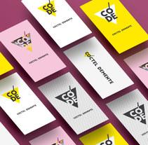 Rebranding Cóctel Demente . Un proyecto de Br, ing e Identidad y Diseño gráfico de Laura Singular - 16-02-2017