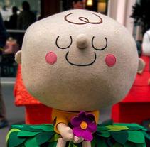 Snoopy & Charlie Brown - Peanuts custom. Un proyecto de Diseño de personajes y Escultura de Piti Piti - 15-02-2017
