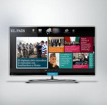 El Pais - Smart TV. Un proyecto de Diseño, UI / UX, Dirección de arte, Diseño gráfico y Diseño de producto de Ana Rosa González Blanco - 20-02-2013