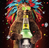 Mixxtail. A 3D, and Art Direction project by Lucas Casagrande - 21-02-2016