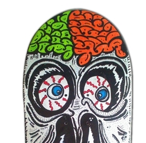 Skateboard • Broken Face #SkateArt. A Design, Illustration, Art Direction, and Fine Art project by Matdisseny (marc argelich trigo) - 31-12-2013