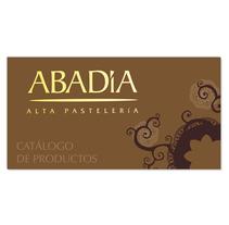 ABADÍA Catálogo de productos de alta pastelería.. A Editorial Design project by Rocío Peña del Río         - 01.01.2015