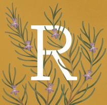 Illustration + Type 'nature'. Un proyecto de Ilustración de Tania Acuña - 02-03-2017