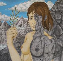 Como la montaña. Un proyecto de Ilustración y Bellas Artes de Isma Cervantes         - 06.03.2017