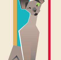 Mi gato se llama Guantes. Um projeto de Ilustração de Gil Gijón - 07-03-2017