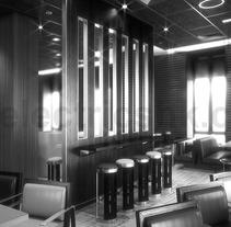 Interior Restaurante CGI 3D. Um projeto de 3D, Design de móveis, Arquitetura de interiores e Design de interiores de Ivan C         - 07.03.2017