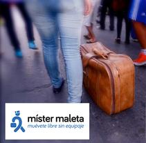Míster Maleta: Logotip. Un proyecto de Br, ing e Identidad y Diseño gráfico de Hèctor Salvany Peyrí         - 09.09.2016