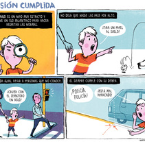 Los lunes Autismo. A Illustration, and Comic project by Martin Tognola - 12-03-2017