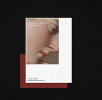 IGC Conservación & Restauración de Obras de Arte. A Art Direction, Br, ing&Identit project by Sonia  Castillo - 14-03-2017