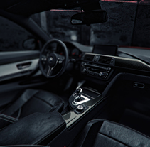BMW M4 GPU. A 3D&Interior Architecture project by Alberto Luque         - 14.03.2017