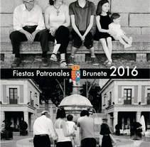 Programa de fiestas patronales de Brunete 2016. Un proyecto de Diseño gráfico de Vanessa Maestre Navarro         - 21.09.2016
