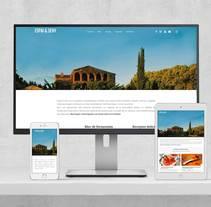Rediseño web Espai & Seny (en desarrollo). Un proyecto de Diseño Web de Isaac Peñarroya  - 29-03-2017