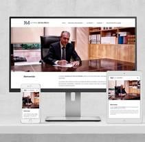 Web Notaria Javier Micó. Un proyecto de Diseño Web de Isaac Peñarroya  - 29-03-2017