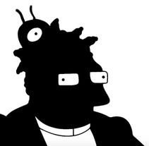 Futurama | Motion Graphic. Un proyecto de Motion Graphics, Animación, Multimedia y Vídeo de Elena Salueña         - 25.05.2016