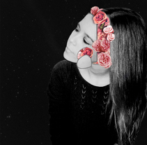 -Roses. A Design, Illustration, Graphic Design, and Collage project by Carmen Tortajada - 04-04-2017