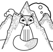 Ilustración Promo ToteBags Para Kyo traducciones. Um projeto de Design e Ilustração de Luisa Sirvent         - 07.04.2017