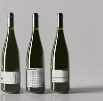 Diseño de una etiqueta de vino: La Cuadrada.. Un proyecto de Diseño, Diseño gráfico y Packaging de Claudio Linares Burbat - 27-03-2017