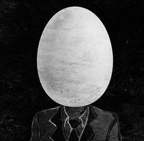 """ilustración para relato """"¡Y un huevo!"""". A Illustration project by Elvira Inés Lorenzo Lorenzo         - 24.04.2017"""
