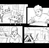 """STORYBOARD """"Héroes""""-AVINATUR. AGENCIA: INTERPROFIT. PRODUCTORA: VIETNAM ESTUDIO. A Advertising project by Carlos Piñol Corbí         - 04.05.2017"""