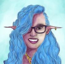 Retrato. Um projeto de Ilustração e Design de personagens de Yumir Canelones         - 13.05.2017