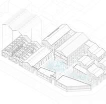 Centro de producción de arte, en Poblenou. A Architecture project by Helena Llop - 22-02-2016