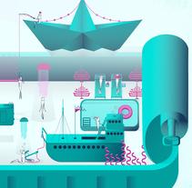 """Mi Micromundo  """"Canned"""". Un proyecto de Diseño, Ilustración e Ilustración vectorial de Eli Piozza Iniesta         - 15.05.2017"""