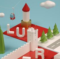 Dirección de Arte con Cinema 4D - Berna y Lucerna: ciudades suizas.. A 3D project by Laia Vives Muñoz         - 15.05.2017