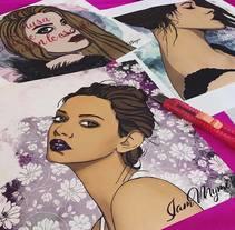 Musas confusas.... A Illustration project by Myriam González - 15-05-2017
