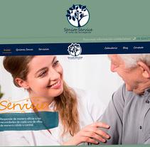 Senior Service. Un proyecto de UI / UX, Diseño Web y Desarrollo Web de Pablo Núñez Argudo         - 16.12.2016
