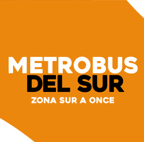METROBUS DEL SUR. A Advertising, Br, ing, Identit, Graphic Design, and Digital retouching project by Rodrigo Alfaro - 18-05-2017