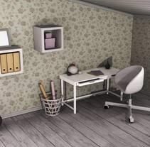 Interior 3D. A Design, 3D, Architecture, Furniture Design, Industrial Design, Interior Architecture, Interior Design, Product Design, Set Design&Infographics project by Lorena Navarro Bernal         - 18.05.2017