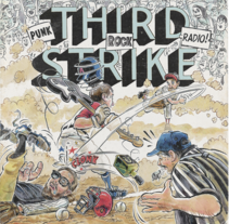 Third Strike Álbum Artwork. A Illustration, Art Direction, Graphic Design, Packaging, Product Design, T, and pograph project by Ink Bad Company - 18-05-2017