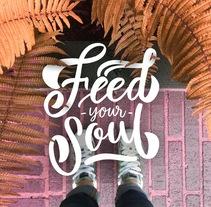 Floor Letters - Serie. Un proyecto de Diseño, Ilustración, Fotografía, Dirección de arte, Tipografía, Caligrafía, Arte urbano y Lettering de Nubia Navarro - 22-05-2017