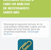 Diseño curso responsive formador de formadores. A Web Development project by Álvaro         - 25.05.2017