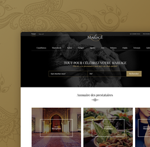 LeMariage.ma. A UI / UX, and Web Design project by Jimena Catalina Gayo         - 01.03.2016