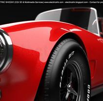 AC Shelby Cobra CGI 3D Vista Nueva. Un proyecto de Diseño, 3D, Diseño de automoción, Diseño gráfico, Diseño industrial y Retoque digital de Ivan C         - 30.05.2017